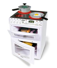 Look at this #zulilyfind! Electronic Stove Toy Set by Casdon #zulilyfinds