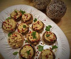 Γεμιστά μανιτάρια με μους τυριών!   Εύα Παρακεντάκη Baked Potato, Potatoes, Eggs, Baking, Breakfast, Ethnic Recipes, Food, Morning Coffee, Potato