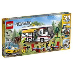 This amazing Lego Vacation Getaways kit has 792 pieces and hours of building fun.  It has a camper van with all you need for a great vacation, including an awning and barbecue gear.  Take the motorboat for a spin when you like.    Rebuild it to make a perfect Summer home or a fabulous yacht.  I think this will Be a Xmas 2016 best seller.  One of my 5 Lego sets to CRUSH it for Christmas 2016 – Top 5 of this and that