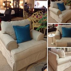 Accent Chair - Taupe Fabric Accent Chair - $308.85