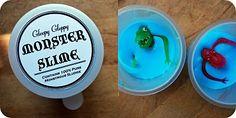 Monster Slime - pra fazer pra festa monstro! :D
