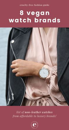 1530248b8533 List of the best vegan watches available from affordable to luxury brands!  Branded Jewellery