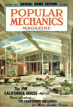 Vintage Popular Mechanics Cover. Repinned by Secret Design Studio, Melbourne. www.secretdesignstudio.com