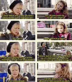 You're allowed to take money from idiots. - Karen, Outnumbered