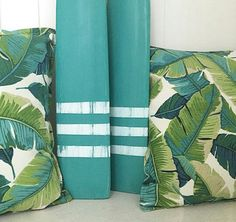 Bungalow Living Tropical Outdoor Cushions