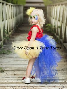 e747d7221 Blue Gold Macaw Bustle Tutu - Girls Sizes 0 6 9 12 18 Months 2T 3T 4T 5T 6  7 8 10 12 14 Adult Ladies Women Teen - Parrot Halloween Costume