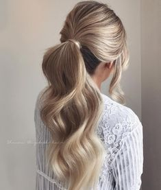 wedding hair styles wedding hair hair styles for short hair wedding hair updos hair long updo wedding hair hair veils kardashian wedding hair Loose Hairstyles, Ponytail Hairstyles, Bride Hairstyles, Ponytail Haircut, Hairstyle Ideas, School Hairstyles, Office Hairstyles, Stylish Hairstyles, Simple Hairstyles