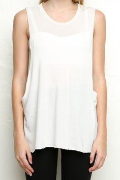 Brandy ♥ Melville | Kate Tank - Tops - Clothing