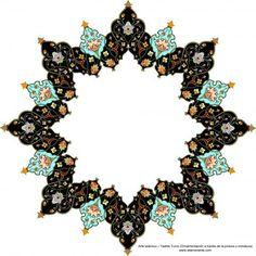 Arte islámico– Tazhib Turco (Ornamentación a través de la pintura o miniatura) | Galería de Arte Islámico y Fotografía