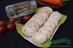 Retete Aperitive Festive Fresh Rolls, Sushi, Herbs, Cheese, Ethnic Recipes, Food, Kitchens, Meal, Eten