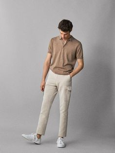 Summer Outfits Men, Stylish Mens Outfits, Men Summer, Stylish Shirts, Summer Looks For Men, Cool Outfits For Men, Stylish Clothes, Casual Summer, Polo Shirt Outfits