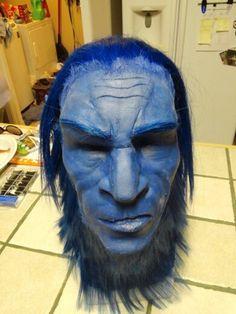 Beast XMen Latex Mask