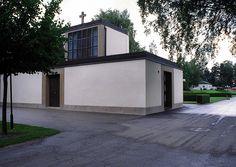 Enköping Cemetery and Chapel, Enköping 1930-32, Arch. Sigurd Lewerentz