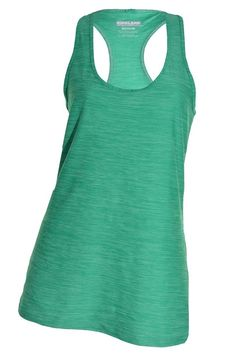 Kirkland Athletic Yoga Racerback Plus 1X Tank Top Moisture Wicking Shirt Long  #KirklandSignature #ShirtsTops