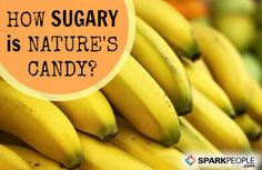 Have you ever wondered how sweet nature's candy really is? Find out how your favorite fruits stack up in this handy chart! via @SparkPeople