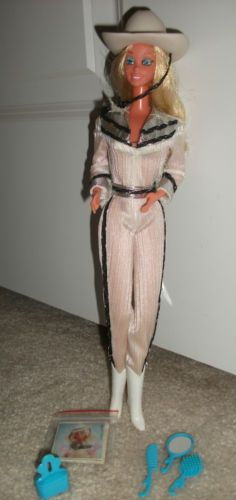 Western Barbie - Totally had this doll