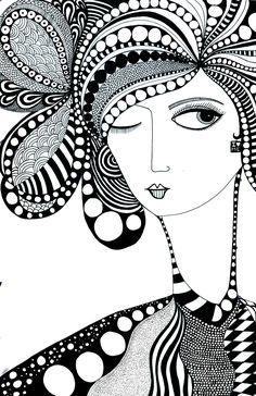 artwork by indian artist - Divyam Kaushik . you can find him on instagram #artshaart Doodle Art Drawing, Zentangle Drawings, Mandala Drawing, Pencil Art Drawings, Art Drawings Sketches, Doodle Art Designs, Mandala Artwork, Doodle Art Journals, Learn Art