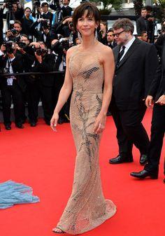 Sophie Marceau in Armani Privé - Cannes 2015