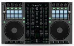 Gemini is a pro 4 Channel DJ controller for mobile and performance DJs alike. The controller features a rugged metal casing and 8 trigger pads. Usb, Hello Music, Digital Dj, New Dj, Dj Gear, Dj Equipment, All About Music, 4 Channel, Mixers