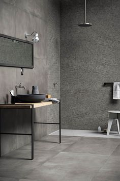 Bathroom tiles: ceramic and porcelain stoneware - Marazzi 7674