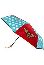 "DC Comics Wonder Woman Logo Umbrella: DC Comics Wonder Woman Logo Umbrella Dimensions"" H"" x L"" x D""- 5 x 7 Material: Polyester Officially licensed Travel Umbrella, Rain Umbrella, Dc Comics, Ladies Umbrella, Compact Umbrella, Wonder Woman Logo, Marvel Vs, Ladies Party, Batgirl"