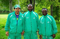 Guys look good in b-ped sportswear track suits