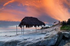 Fire Sky - Windansea - http://www.greatbigphotos.com/products/beaches/fire-sky-windansea/