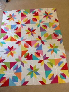 Confetti quilt pattern by Material GirlfriendsNew! Coming soon!