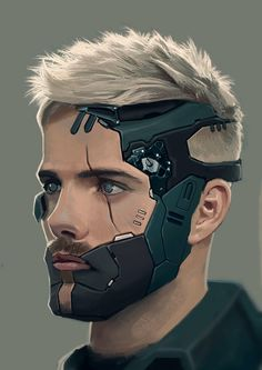 Help make Pewdiepie see this post so that he will play Cyberpunk 2077 when it comes out! (ArtStation - Soldier by Carlos Alberto Martínez) Cyberpunk 2077, Cyberpunk Kunst, Arte Sci Fi, Sci Fi Art, Character Concept, Character Art, Concept Art, Science Fiction, Space Opera