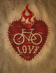 Pretty cool cycling graphic-maybe tattoo
