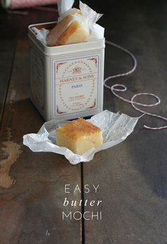 Easy and Decadent Butter Mochi