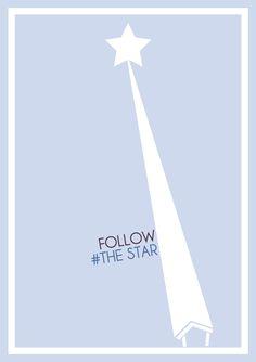 follow the star..... :)