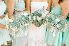 Rustic, sea foam green DIY wedding ~ Daniel Cruz Photography - Best Wedding Blog