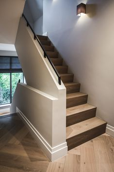 Ideas flooring farmhouse stairs Best Picture For Stairs landing For Your Taste You are looking for something, and it is going to tell you exactly what you are looking for, and Farmhouse Stairs, Farmhouse Flooring, Boutique Homes, Basement Stairs, Staircase Design, Classic House, House Goals, Interior And Exterior, Architecture Design