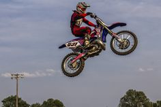 https://flic.kr/p/xZ8NLM | In Flight | Motocross racing in Norman, Oklahoma.