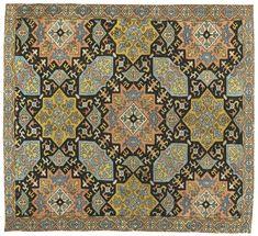 Azerbaijan embroidered silk, South Caucasus