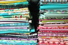 Art Gallery Fabrics by maureencracknell, via Flickr
