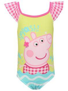 Peppa Pig Gingham Swimsuit