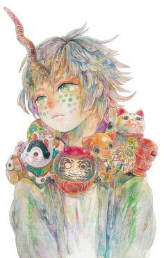 just like honey Manga Anime, Manga Art, Kunst Inspo, Art Inspo, Art And Illustration, Fantasy Kunst, Fantasy Art, Anime Kunst, One Piece Anime