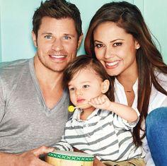 Nick & Vanessa Lachey with son Camden