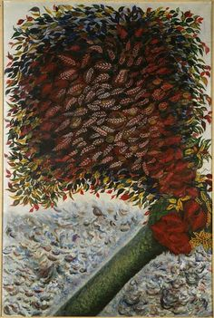 Séraphine de Senlis | Arbre rouge | Images d'Art