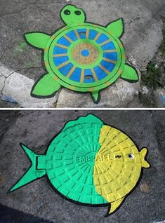 Manhole Cover Art That Is Far From Pedestrian