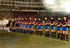EQUIPOS DE FÚTBOL: SELECCIÓN DE ESPAÑA contra Estados Unidos 11/03/1992