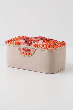Coral Bells Jewelry Box