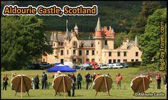 Most Amazing Castle Hotels In The World, Top Ten, Aldourie Castle Scotland