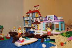 Beach Front Scene - Lego Friends