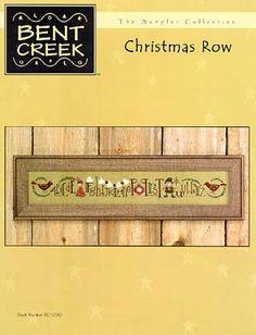 Christmas Row - Cross Stitch Pattern