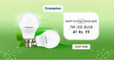 @snapdeal #crompton led bulb for Rs.99 only.