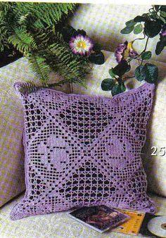 Crochet and arts: Almofadas