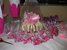 Here are some pink Rally for the Cure treats.